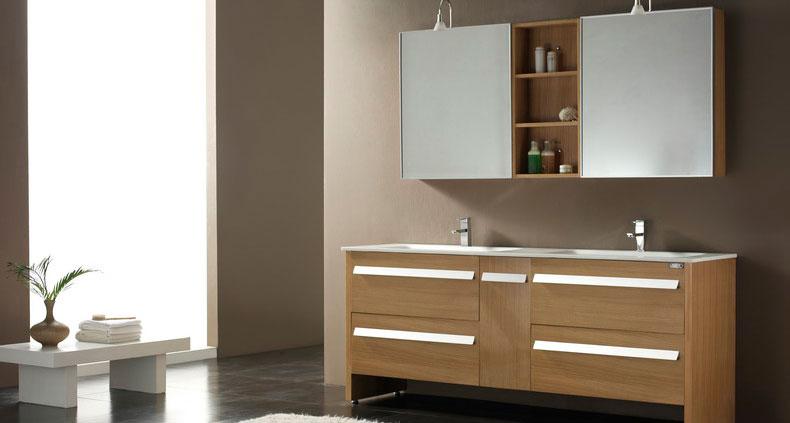 Gabinete Para Baño Madera:Gabinetes de baño, gabinetes de baño de madera sólida