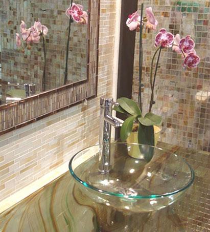 Lavabos de cristal lavabos de cristal puro de la serie for Lavabo vidrio
