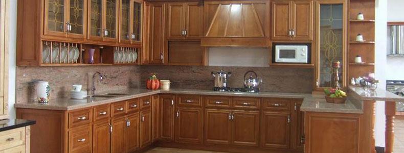 Mueble de cocina gabinetes de cocina de madera s lida for Disenos de gabinetes de cocina