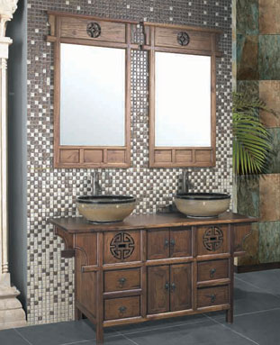 Chinese Bathroom Cabinet Bathroom Furniture Antique Cabinets ...